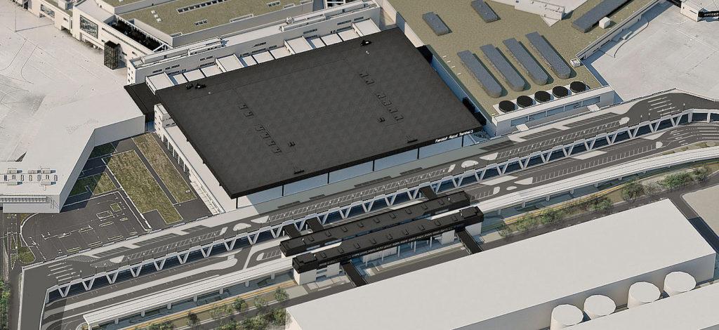 Visualisierung Terminal 3 Airport Frankfurt