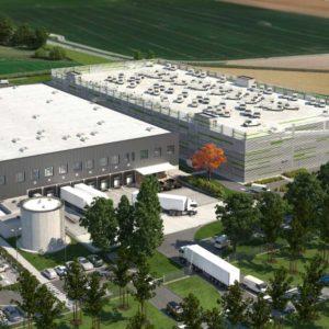 Visualisierung Amazon Logistikzentrum