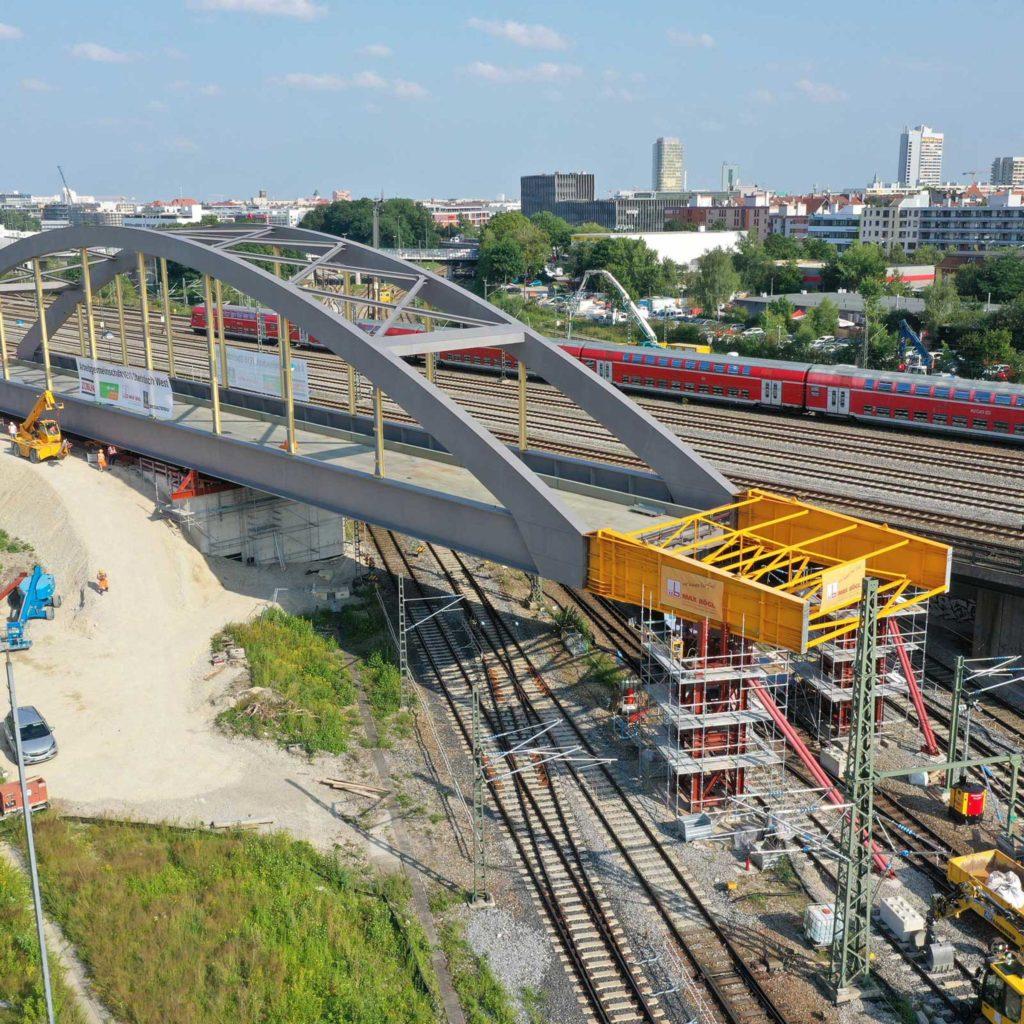 2. Stammstrecke Stabbogenbrücke