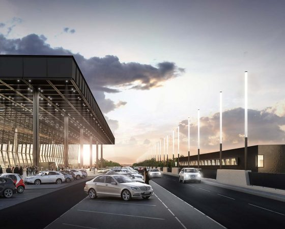 Visualisierung Impression Terminal 3 Airport Frankfurt
